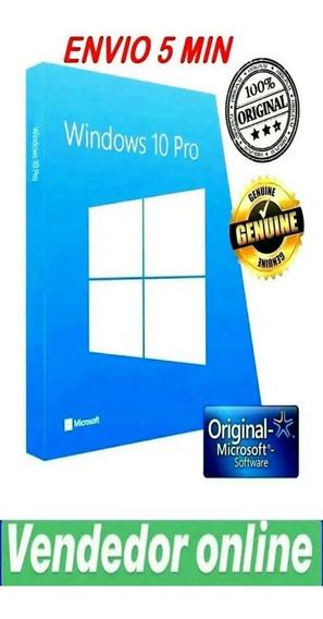 .key-chave-licença Windows 10pro*32/64 Bits-ativacao Online.
