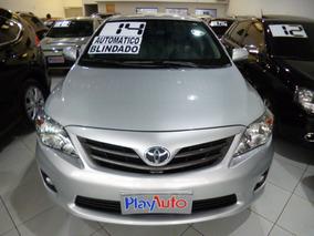 Corolla 2.0 Aut Xei Flex Blindado Prata 2014 - Playauto