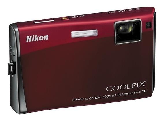 Câmera Digital Nikon Coolpix S60 Touch