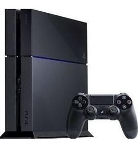 Consola Ps4 Fat 500gb Usada + Control Original + Juego