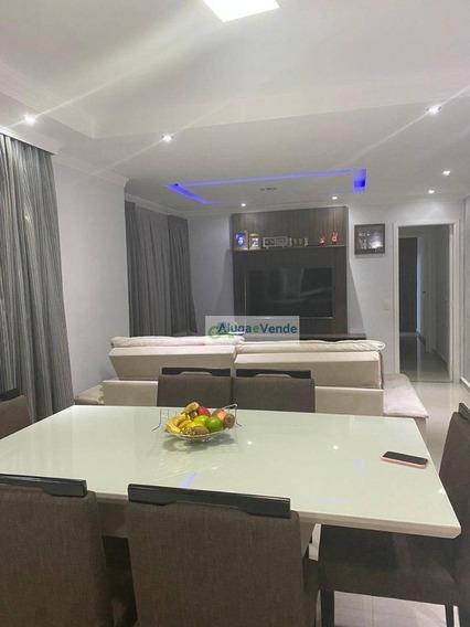 Apartamento Com 2 Suítes À Venda No Condomínio Alegria, 83 M² Por R$ 450.000 - Centro - Guarulhos/sp - Ap0198