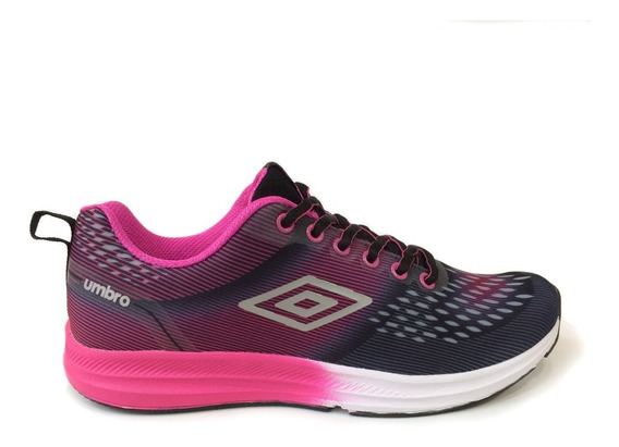 Zapatos Umbro Originales Damas - Um16579w - Black Fucsia