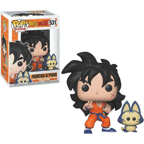 Figura Funko Pop Dragon Ball Z Yamcha & Puar