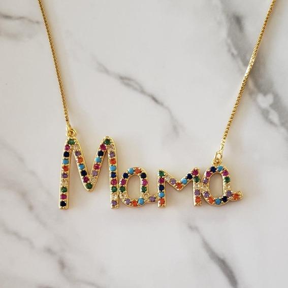 Collar Mama Rainbow