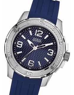 Reloj Guess W0682g1 Carcasa Acero Cristal Duro 10 Atm Bisel