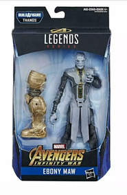 Marvel Legends Ebony Maw - Fauce De Ébano - Avengers Ultimat
