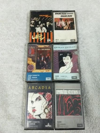 Cassette-duran Duran-lote 6 Cass-onda A-ha-club-depeche