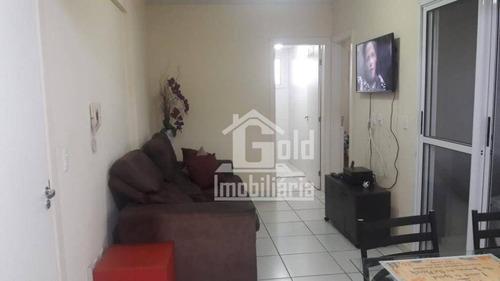Apartamento Com 1 Dormitório À Venda, 41 M² Por R$ 160.000,00 - Vila Seixas - Ribeirão Preto/sp - Ap3109