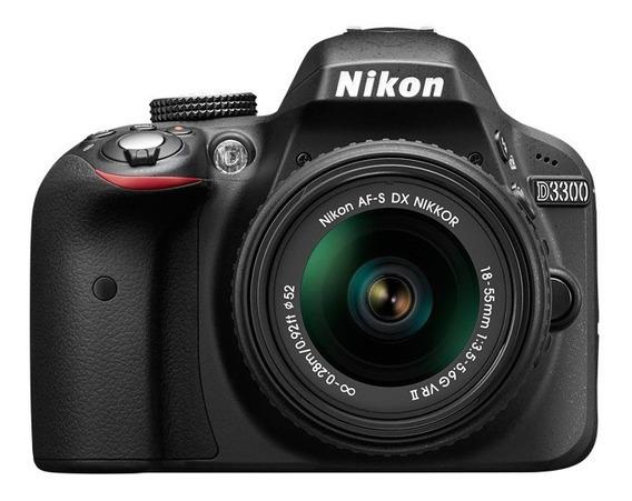 Camara Nikon D 3400 Con Lente 18/55