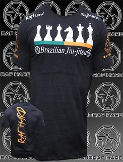 Camisa / Jiu-jitsu / Bjj / Arte Suave / Xadrez ( Raf Hard )