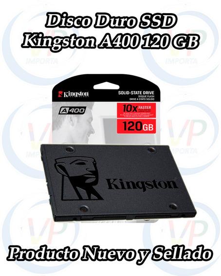 Disco Solido Kingston 120gb Ssd A400 Sata3