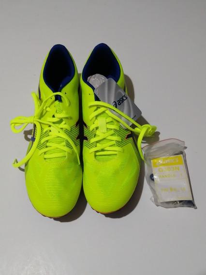 Spike Tenis Picos Para Atletismo Asics Velocidad Mod. G502y