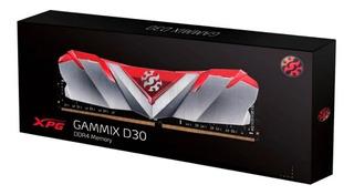 Memoria Ram Ddr4 8gb 3000mhz Xpg Gammix Disipador Gamer