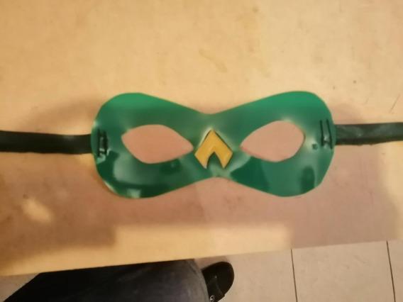 (1 Capa) Capa De Aquaman Con Antifaz.