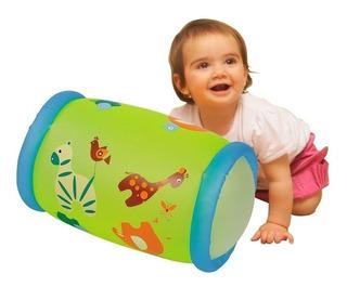 Inflable Baby Roller Con Cascabel Rueda Y Suena Para Bebe