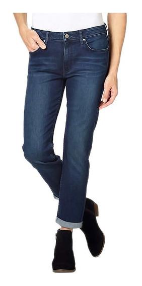 Pantalón Mezclilla Tipo Boyfriend Mujer Calvin Klein Azul