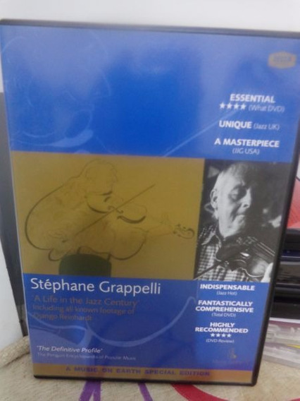 Dvd Stéphane Grappelli A Life In The Jazz Century