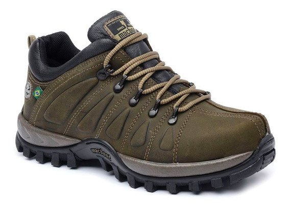 Bota Adventure Cano Baixo Macboot Uirapuru 09 Oliva