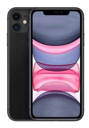 iPhone 11 Preto, Com Tela De 6,1 , 4g, 128 Gb - Mhdh3br/a