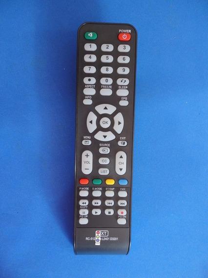 Controle Remoto Lcd Led Cce Stile D32 D40 D42 Lt32 42 Rc-512