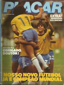 Placar Nº 683 24/06/1983 Edição Rara
