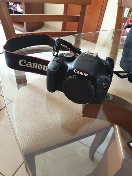 Câmera Canon T2i + Lente 55-250mm