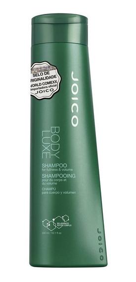 Shampoo Para Dar Volume Aos Cabelos Finos Joico Body Luxe 30