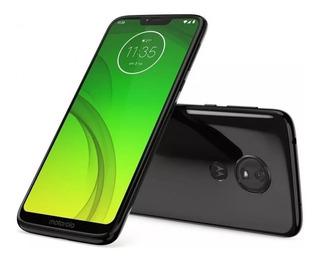 Celular Motorola Moto G7 64gb 4gb 6,2 12mp+5mp 8mp Promoçao