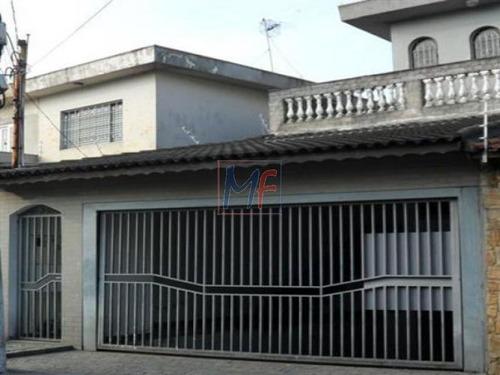 Imagem 1 de 16 de Ref: 3554 - Sobrado No Bairro Vila Nova Cachoeirinha, Com 3 Dorms (2 Suítes), Terraço, Salão De Festa, 3 Vagas A 5 Min A Pé Do Terminal, 150 M². - 3554