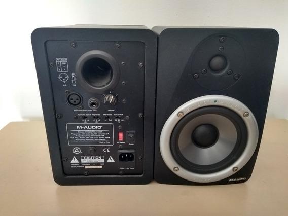 Par Monitores Referência M-audio Bx5