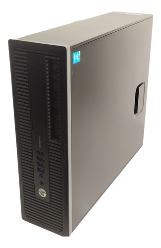 Imagem 1 de 6 de Desktop Hp Prodesk 600 G1 Core I3-4160 8gb Ram Hd 500gb Nf