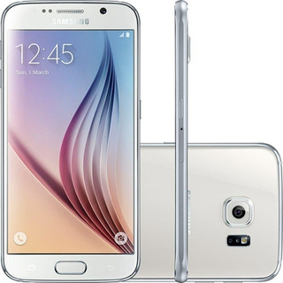 Samsung Galaxy S6 G920 Câm 16mp, Branco 32gb Leia O Anúncio