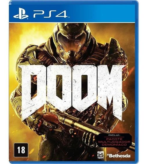 Doom Ps4 Midia Digital 1