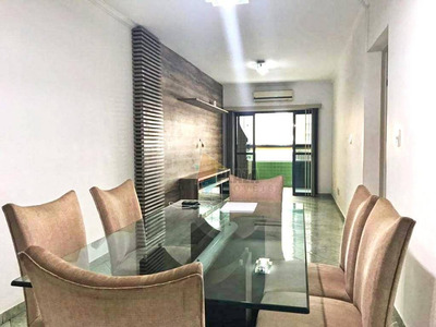 Apartamento Com 3 Dormitórios Para Alugar, 104 M² Por R$ 2.900/mês - Canto Do Forte - Praia Grande/sp - Ap10719