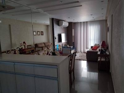 Charmoso Apto De 76m² Repleto De Armários Com 3 Dormitórios À Venda - Jardim Aquarius - São José Dos Campos/sp - Ap1788