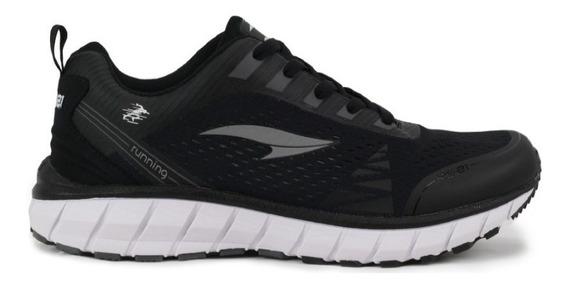 Zapatos Deportivos Para Damas Y Niñas Rs Running Runem Negro