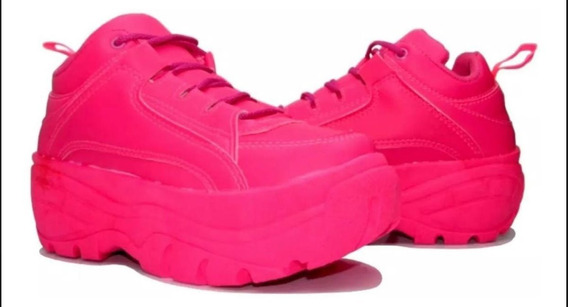 Tênis Feminino Chunky Sneaker Conforto Total Promoção