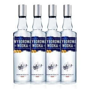 Kit Vodka Wyborowa 750ml - 4 Unidades