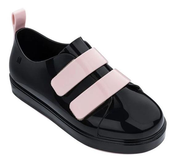 Melissa Mel Go Sneaker Preto Rosa 32798