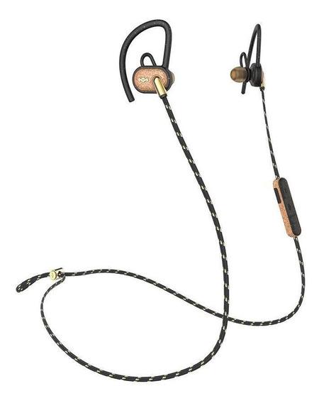 Audífonos House Of Marley Sport Bt Uprise In-ear Brass Cobre