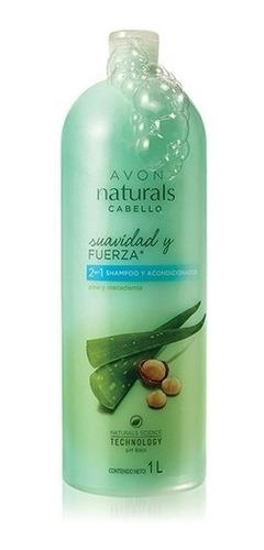 Shampoo Y Acondicionador 2 En 1 Aloe Y Macadamia Avon Natura