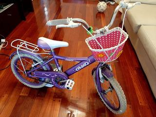 Bicicleta Olmos Rodado 16 Niñas