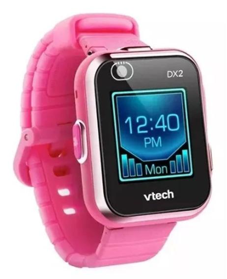 Reloj Inteligente Rosa Niñas 2 Camaras