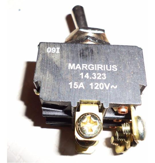 Chave Liga / Desliga Margirius 15 A - Trifásica