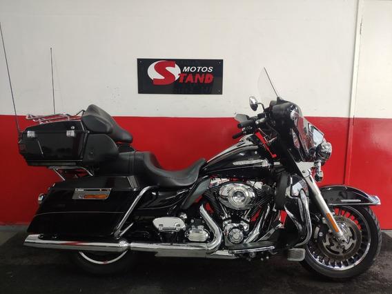 Harley Davidson Electra Glide Ultra Limited Flhtk 2013 Preta