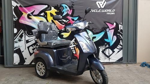 Triciclo Moto Electrico Sunra Shino 0km 2021 Sin Tramites