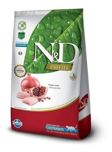 Farmina N & D Grain Free Feline Castrado 1.5 Kg Con Regalo