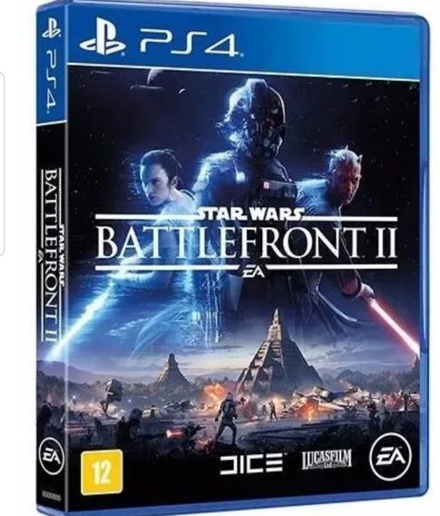 Jogo Star Wars Battle Front 2 Ps4 Mídia Fisica Lacrado