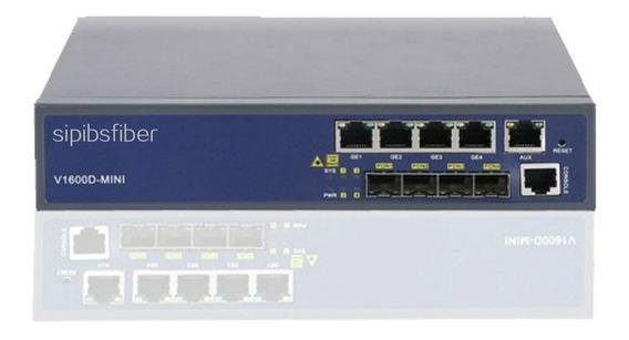 S. 1 Un Olt Epon V-solution V1600 D4 Mini 1u 4 Ports 4 Pon - 4ge + 4 Gbics Px20+ ( Completa Bivolt ) 12x Sem/ Juros Nfe