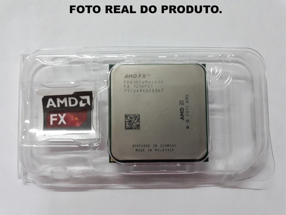 Processador Amd Fx-6100 3.3ghz Am3+ Ddr3